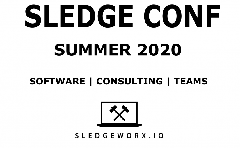 SledgeConf Request for Talks and Themes guide
